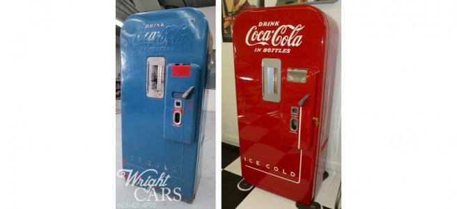 1952 Restored Vendo Coke Machine