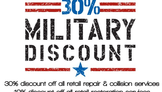 Wright CARS Auto Body Shop Offers Military Discount