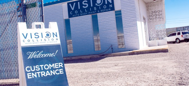 Vision Collision is located at 1109 N Sickles Dr in Tempe, AZ